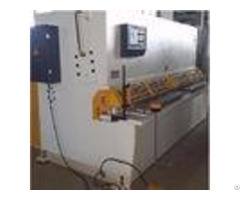 Automatic Metal Shearing Machine Cut Max 10mm Thickness Steel Plate Sheet