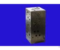 One Year Warranty Cnc Machining Parts Hydraulic Control Valve Block
