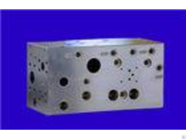 Carbon Steel Material Cnc Machining Parts Hydraulic Control Valve Block