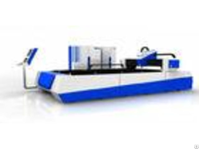 Fiber Laser Cnc Cutting Machine 120 M Min Position Speed For 1 12 Mm Carbon Steel