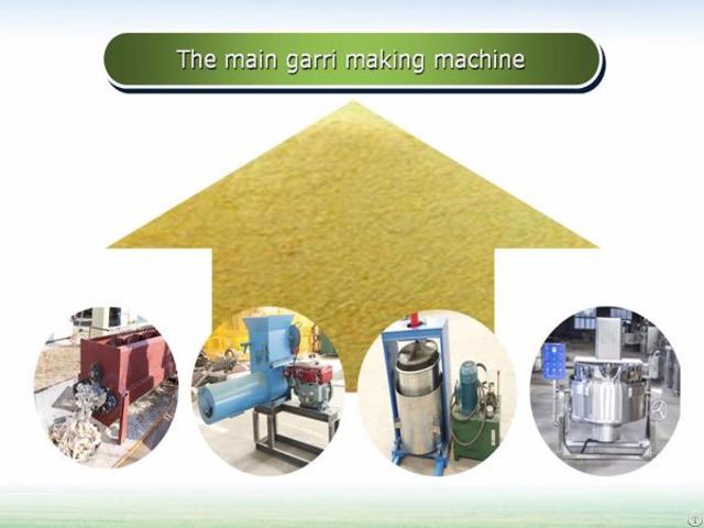 Nigeria Gari Fryer For Garri Making Machinery On Sale