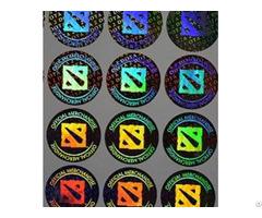 Lasering Hologram Sticker