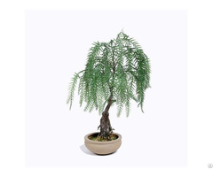 Plastic Weeping Willow Bonsai