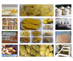 Dried Freeze Dry Fruits From Thailand