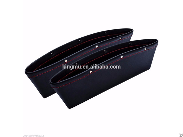 Car Leather Seat Side Organizer