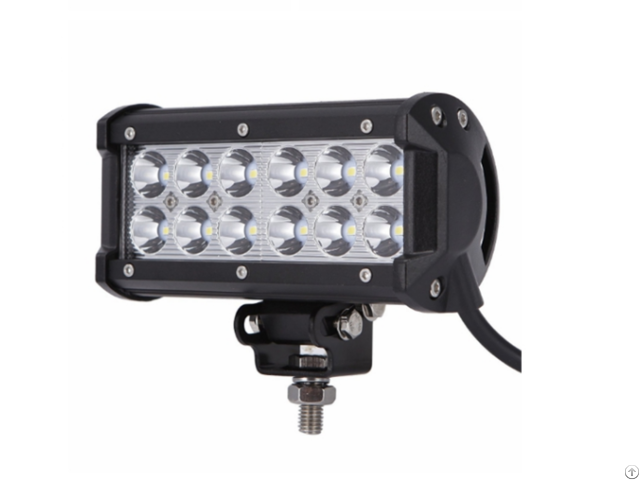 Led Light Bar 2pcs 36w 6 5inch Flood Off Road