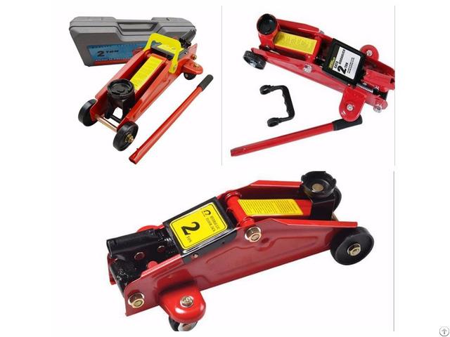Portable Car Repair Tool Kit Lifting 360 Deg Rotational Floor Jack