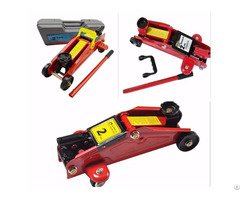 Portable Car Repair Tool Kit Lifting 360 Deg Rotational Floor Jack