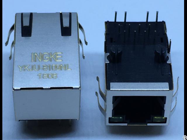 Ingke Ykju 8109nl 100% Cross J1012f21cnl 1 Port Magnetic Rj45 Connectors