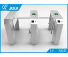 Intelligent Security Vertical Tripod Turnstile Fingerprint Access Control System
