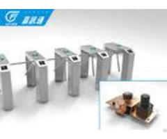 Id Reader Vertical Tripod Turnstile Optional Passage Width 600mm 35 Persons Min