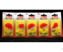 Contrast Color 100% Handmade Number Candle With Red And Yellow Coloring