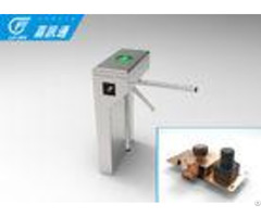 Optional Single Direction Vertical Tripod Turnstile 40person Min For Factory Staff Exit