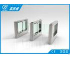 Fingerprint Attendance System Swing Speed Barrier Gate