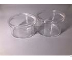 Pp Acrylic Transparent Small Plastic Containers Tea Cups 20g 30g 50g