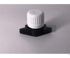 White Or Black Color Pe Material Spout Cap Heat Seal Laundry Detergent Bag