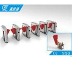 Electronic Turnstile Gates Fingerprint Access Control Scenic Areas Flap Barrier System