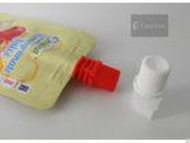 Pe Material 8 6 Mm Cheer Pack Plastic Spout Cap For Stand Up Juice Bag