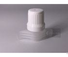Diameter 9 6mm Matetrial Pe White Color Plastic Spout Cap For Jelly Bag