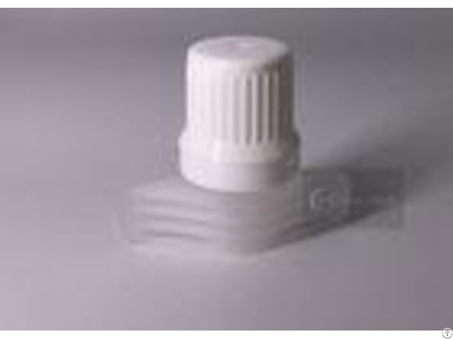 Black Color Polyethylene Twist Spout Cap 9 6mm For Stand Up Pouch