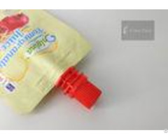 Pe Material 8 6mm Flip Spout Cap For Beverage Pouch Packing Professinal Customized