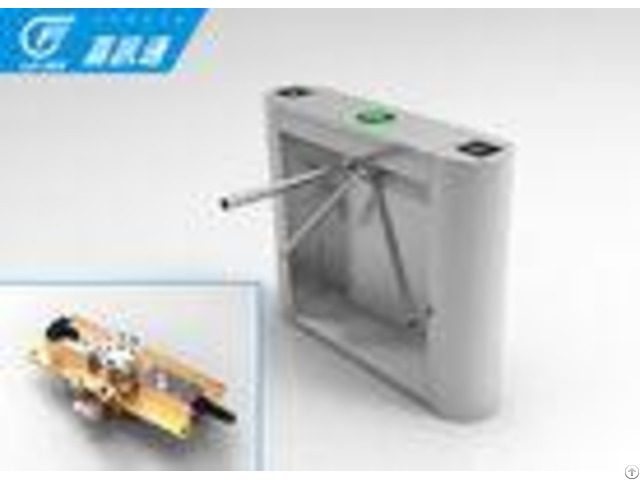 Fingerprint Office Turnstile Gate Systems Smart Speed Tripod Security Gates