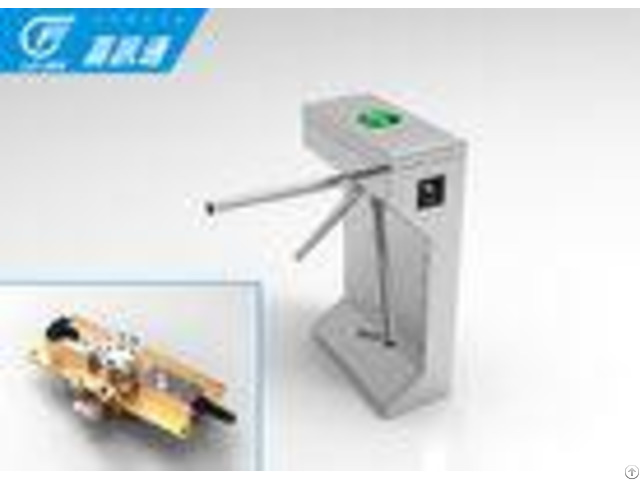 Outdoor Biometric Vertical Tripod Turnstile Semi Automatic For Swiming Pool Gates