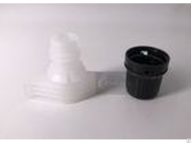 Food Grade Material Twist Spout Cap For Plastic Bag White Black Color