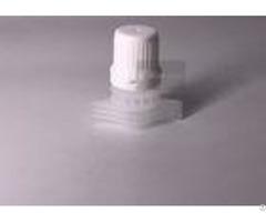 Black Color Injection Modeling 12mm Diameter Spout Cap Heal Seal