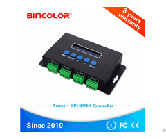 Ethernet Spi Dmx Pixel Light Controller Bc 204