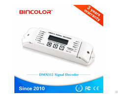 Lcd Display Dmx512 Signal Decoder Bc 820