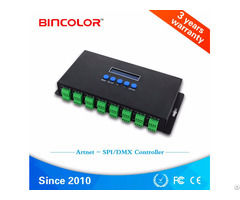 Ethernet Spi Dmx Pixel Light Controller Bc 216