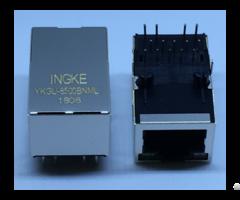 Ingke Ykgu 8500bnml 100% Cross 7499110124 Through Hole Rj45 Magjack Connectors