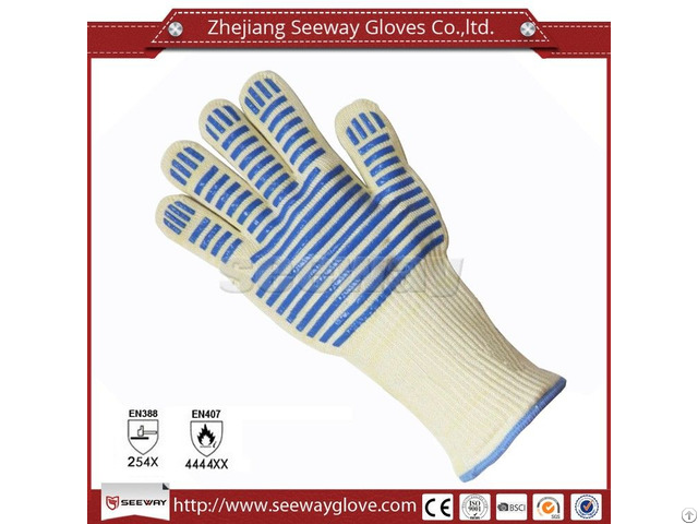 Seeway F500 Silicone Heat Resistant Grilling Glove