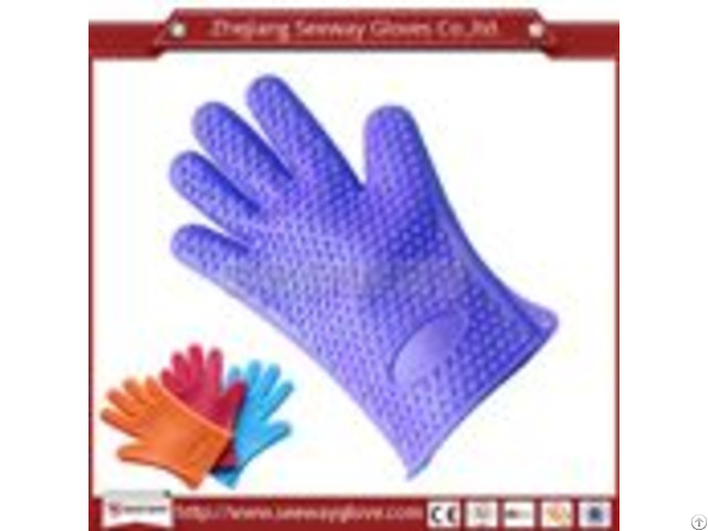 Seeway F200 D Kitchen Cooking Oven Heat Resistant Silicone Gloves