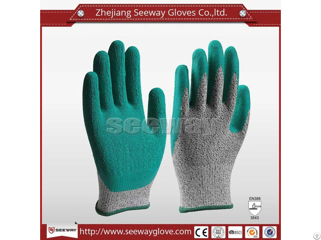Seeway B511 Natural Latex Rubber Gloves