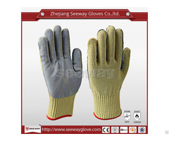 Seeway B506 Aramid Glove With Leather Palm Sewn