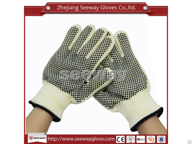 Seeway F500 Rubber Kitchen Gloves Heat Resistant Mitts
