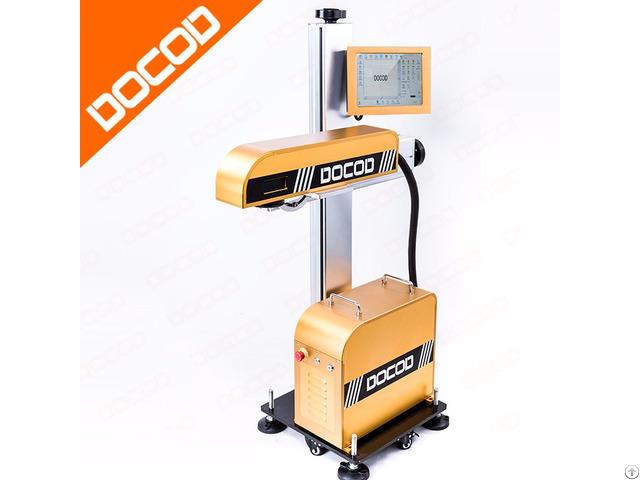 20w Docod Df20 Jet Fiber Laser Marking Machine Price With High Quality