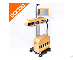 20w Docod Df20 Jet Fiber Laser Marking Machine Price With High Quality