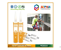 Single Component Ms Sealant For Construction Ms365uv