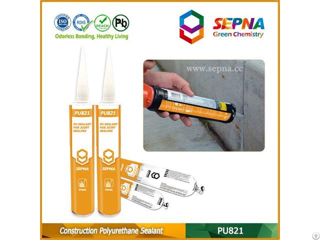 One Component Polyurethane Construction Joints Sealant Pu821