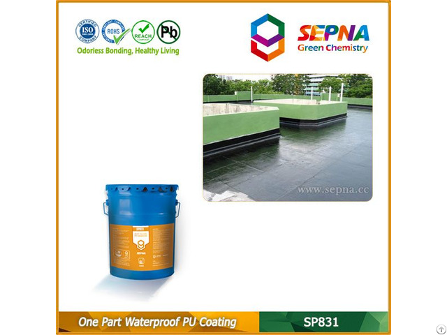 One Component Polyurethane Waterproof Coating Sp831