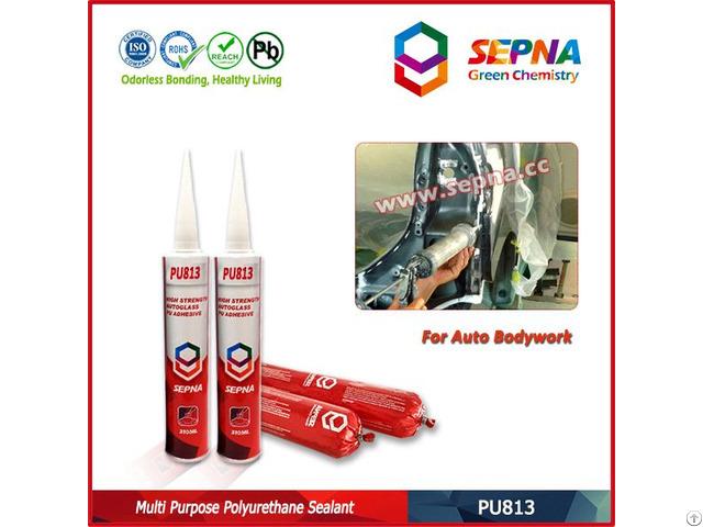 Polyurethane Auto Body Sheet Metal Adhesive Pu813