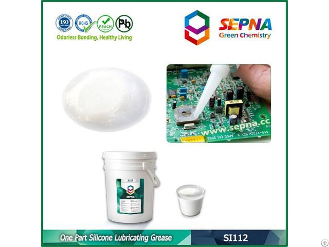 Oil Base Silicone Lubricating Grease Si112