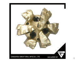 Six Blades Steel Body Pdc Bit For Water Well Drilling