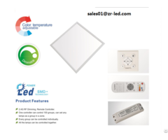 Cct Adjustable And Dimmable Led Panel Light