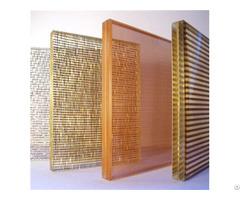 Fabric Mesh Laminated Glass