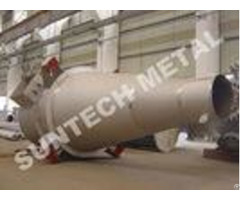Chemical Process Equipment Inconel 600 Cyclone Separator For Fluorine