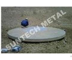 N04400 Monel 400 Nickel Clad Tubesheet For Anti Corrosion